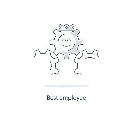 the best: Best employee