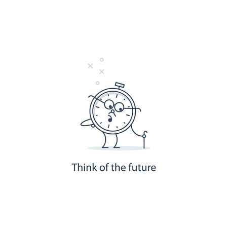 retire: Future thinking, time to retire