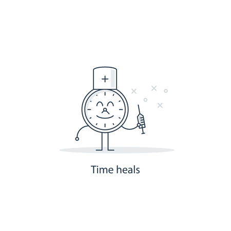 heals: Time heals all wounds