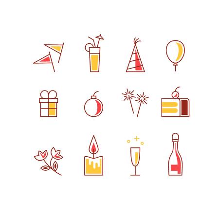 bengal light: Event celebration icons