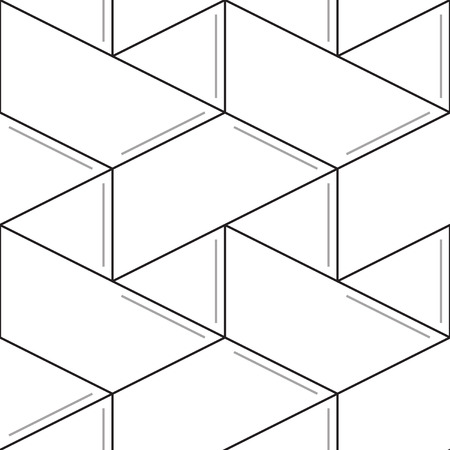 subtle: Linear seamless pattern. Subtle geometric background. Thin lines Illustration