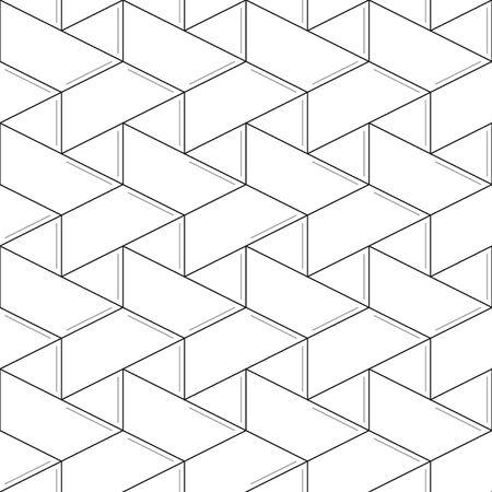 subtle: Linear seamless pattern. Subtle geometric background. Thin lines Illustration