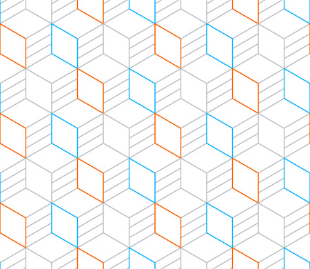 tessellate: Linear seamless pattern, thin lines. Subtle geometric vector background