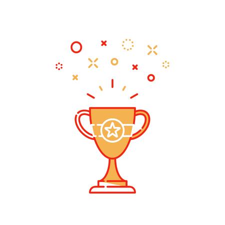 Celebration winner cup