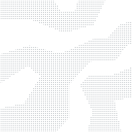 ドット、最小限の微妙な背景、ベクター グラフィック パターン  イラスト・ベクター素材