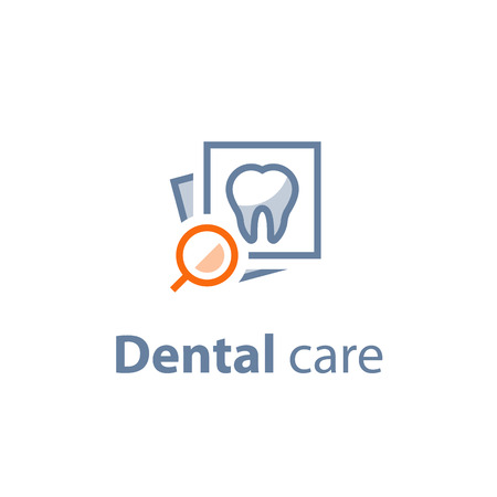 Dental care vector icon.  イラスト・ベクター素材