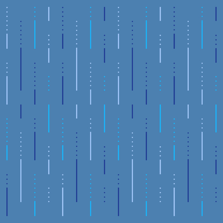 Rain abstract pattern, lines and dots background, linear design, vector illustration.
