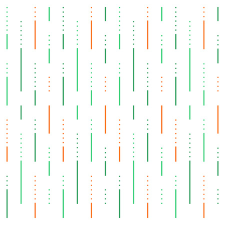 Abstract pattern, lines and dots background, linear design, vector illustration