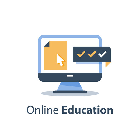 Education online course 免版税图像 - 122318650