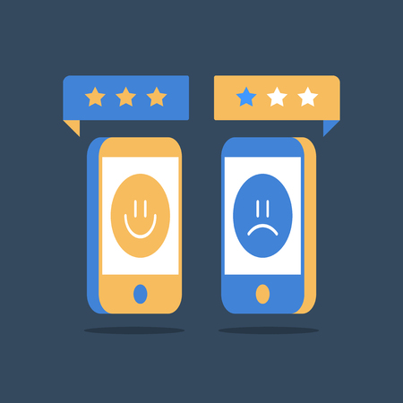 Online review, good or bad customer