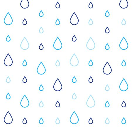 Abstract background with rain drops, subtle pattern, graphic design, creative backdrop, vector illustration Illustration
