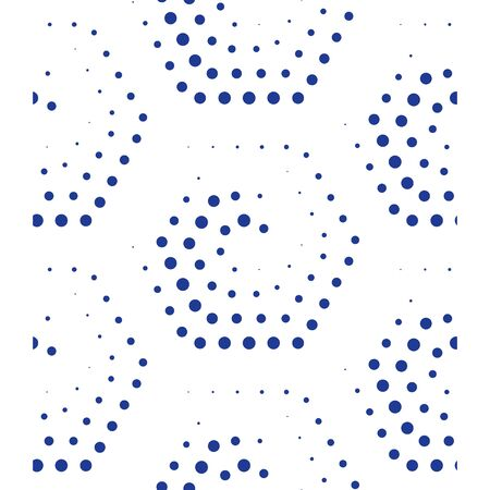 Pattern with dotted hexagons, subtle background, minimalist design, concept graphic