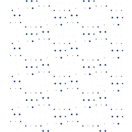 Pattern with dots, subtle grain background, minimalist design, concept graphic Illustration