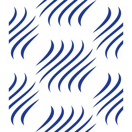 Abstract pattern, vector background with wavy lines