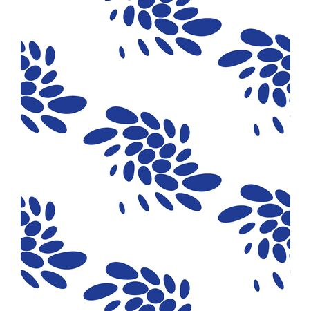 Floral pattern, abstract concept, minimalist background