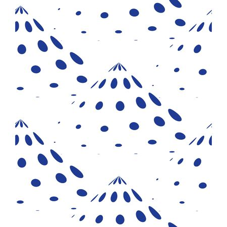 Abstract concept, creative pattern with dots, vector background