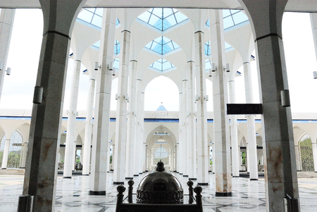 Blue Mosque in Malaysia Editöryel