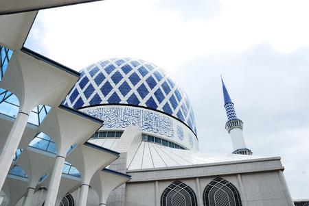 Blauwe Moskee in Maleisië