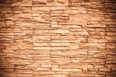 Brown brick wall pattern  photo