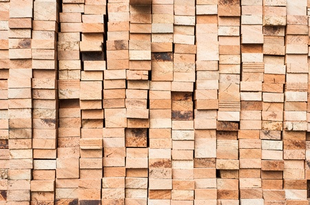 Pattern of Pile of Wood Stored in stock Stock Photo - 18308903