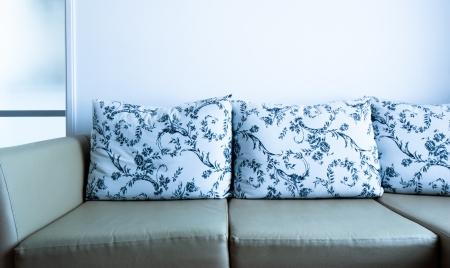 sofa with pillows  Stock Photo - 18734762