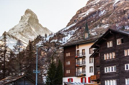 zermatt: Matterhorn View from City Zermatt