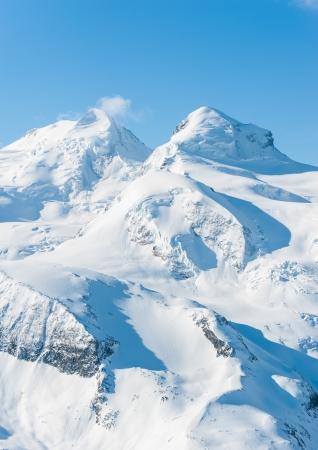 Snow Mountain view