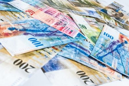 Swiss pieniądze