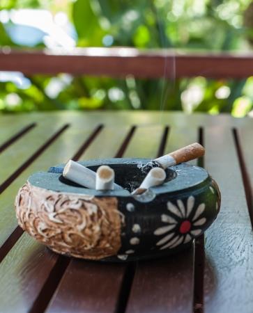 self harm: Cigarette Stock Photo