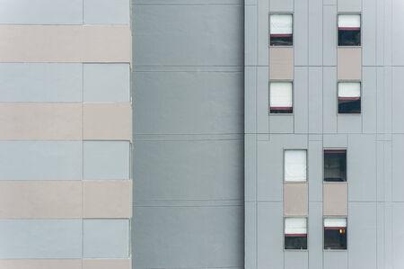 incarnadine: Pattern of Windows on building