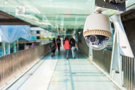 police station: CCTV Camera or surveillance Operating on overpass or walk way