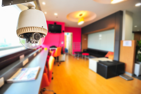 security room: CCTV Camera or surveillance Operating in living area