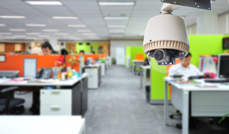 CCTV Camera or surveillance Operating in office building