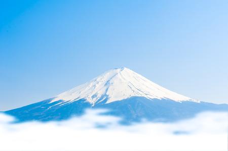 Fujisan , Mount Fuji view from Kawaguchiko lake, Japan photo