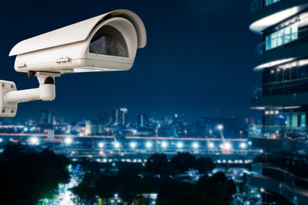 CCTV Camera or surveillance operating  photo
