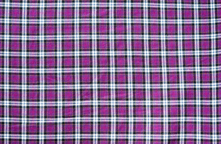scott: texture of purple scott pattern on fabric