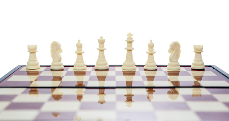 opposition: chess board white side