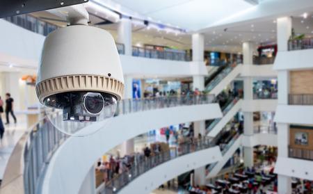 CCTV-Überwachungskamera oder Betriebs innen Kaufhaus