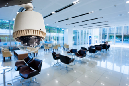 private security: CCTV or surveillance operating in office building