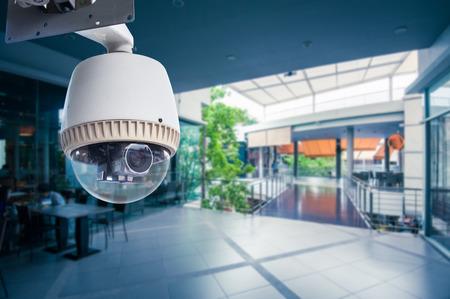 sistemas: CCTV c�mara de funcionamiento dentro de una tienda de estaci�n o departamento