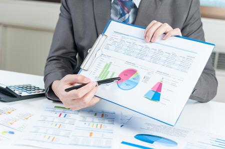 contabilidad financiera cuentas: Empresario informe muestran, concepto de rendimiento empresarial