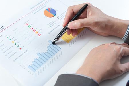 fondos negocios: Empresario espectáculo informe anual, el concepto de rendimiento empresarial
