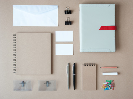 stationary: Set of stationary template Stock Photo