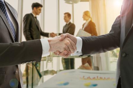 Business handshake Stock fotó