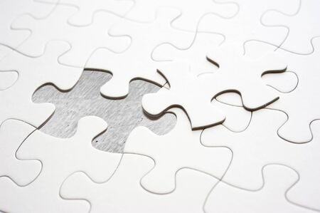 fill in: Jigsaw piece fill in blank, conceptual image
