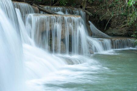 backgroud: backgroud of waterfall, waterflow texture