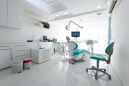 clinics: Modern dental cabinet