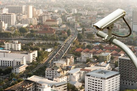 security safety: CCTV camera or surveillance operation