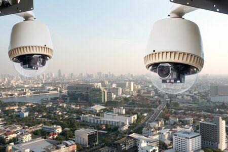 security technology: CCTV camera or surveillance operation