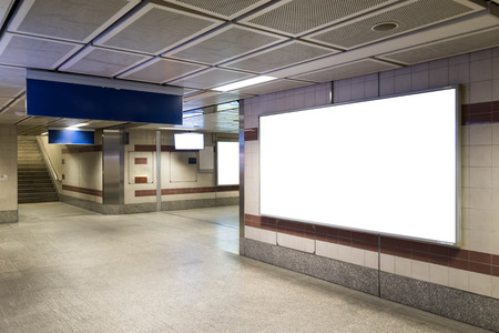 bill board: Blank bill board for advertising